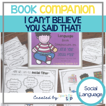 A pragmatic language book companion for I Can't Believe You SAID that!