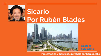 A pre-AP unit based around the song Sicario by Rubén Blades