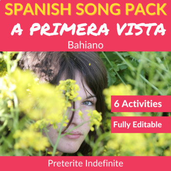 A primera vista by Bahiano: Spanish Song to Practice the Preterite