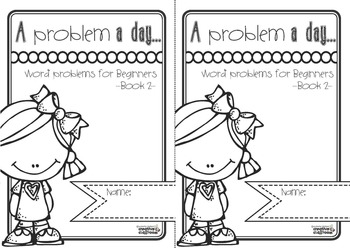 Word problems: A problem a day... Word problems for beginners Book 2