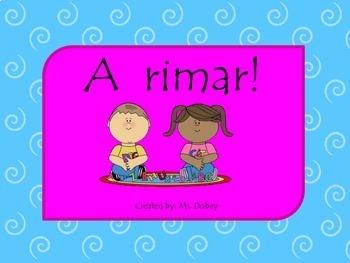 A rimar! rimas en espanol