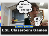 A second video clip from an online Easter ESL craft lesson
