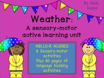 Units for Early Learners with Autism: Weather