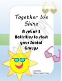 Spring- A set of 5 Lesson Plans to start up your social groups. Lunch Bunch