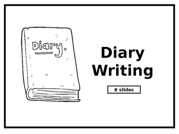 lesson plan for teaching diary entry
