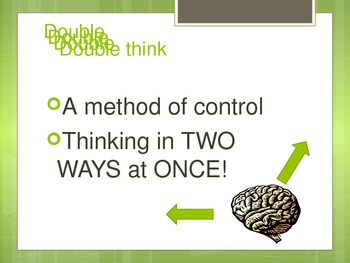 1984: A simple visual explanation of doublethink