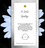 """A social story for separation anxiety: """"A Smile Goodbye"""" m"""