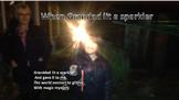 A song for Bonfire night . When granddad lit a sparkler / instrument parts/video