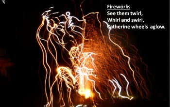 A song for Bonfire night . When granddad lit a sparkler / instrument parts/video