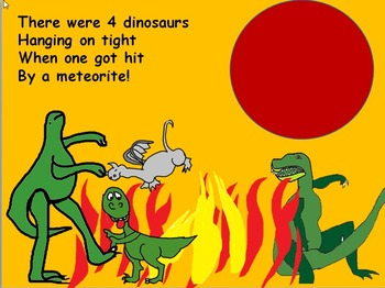 A song for Kindergarten. There were Five dinosaurs videos mp3s