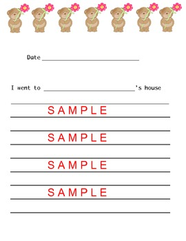 A take  home  activity packet