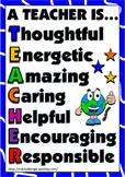A teacher is... (poster)