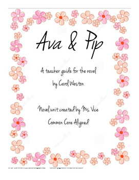 A teacher's guide for Ava and Pip