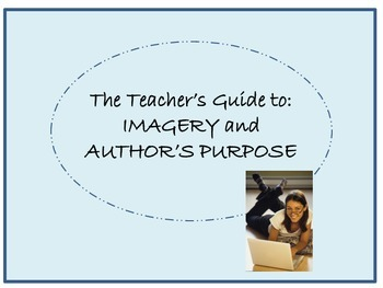 A teacher's guide to connecting imagery and author's purpose
