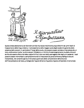 A teatro in italiano - Gian Burrasca