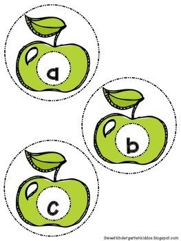 A-tisket, A-tasket, Alphabet Apples in Your Basket! Alphabet Game