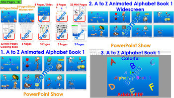 A to Z Alphabet Book 1