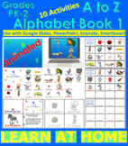 A to Z Alphabet Book 1 - Animated (Bundle) - Distance Lear
