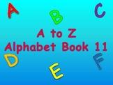 A to Z Alphabet Book 11