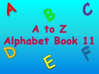 A to Z Alphabet Book 11