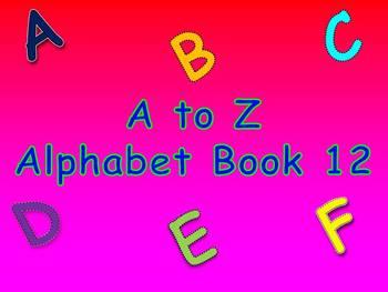 A to Z Alphabet Book 12