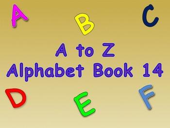 A to Z Alphabet Book 14