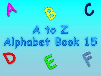 A to Z Alphabet Book 15