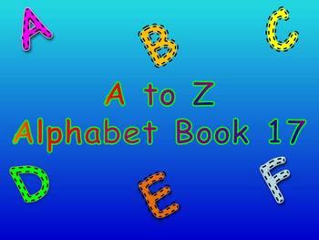 A to Z Alphabet Book 17