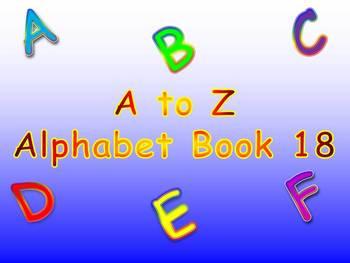 A to Z Alphabet Book 18