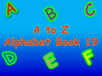 A to Z Alphabet Book 19