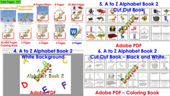 A to Z Alphabet Book 2