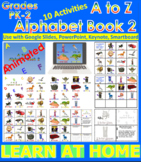 A to Z Alphabet Book 2 - Animated (Bundle) - Distance Lear