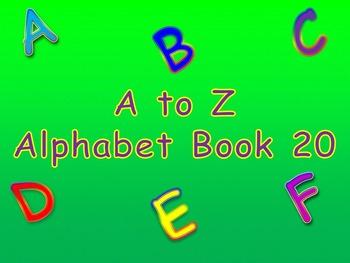 A to Z Alphabet Book 20