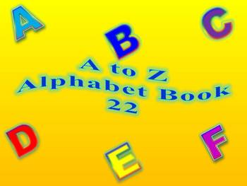 A to Z Alphabet Book 22