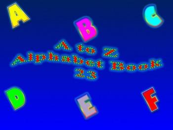 A to Z Alphabet Book 23