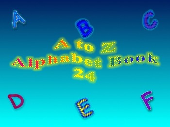 A to Z Alphabet Book 24
