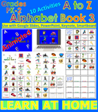 A to Z Alphabet Book 3 - Animated (Bundle) - Distance Lear