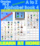 A to Z Alphabet Book 4 - Animated (Bundle) - Distance Lear