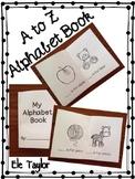 A to Z Alphabet Book