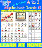 A to Z Alphabet Book 5 - Animated (Bundle) - Distance Lear