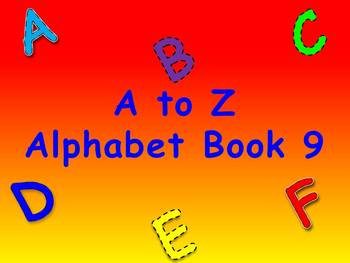 A to Z Alphabet Book 9