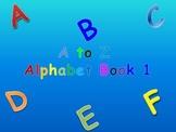 A to Z Alphabet Books 1, 2, 3, 4, 5 (Animated Books)