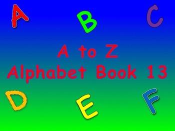 A to Z Alphabet Books 11, 12, 13, 14, 15 (Animated Books)