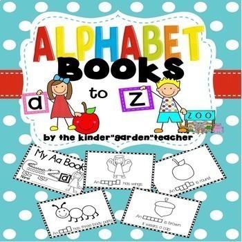 A to Z Alphabet Books