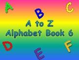 A to Z Alphabet Books 6, 7, 8, 9, 10 (Animated Books)