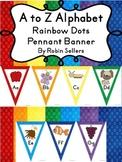 A to Z Alphabet Bunting Pennant Banner Classroom Decor Rai