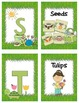 A to Z Alphabet Cards for Spring