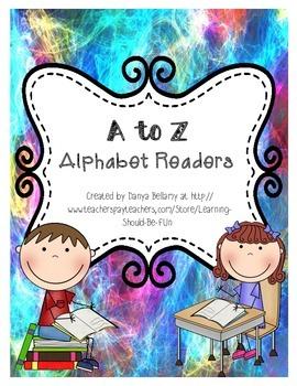 A to Z - 26 Alphabet Emergent Readers