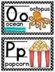 Alphabet Mini Posters for Kindergarten and First Grade Classrooms