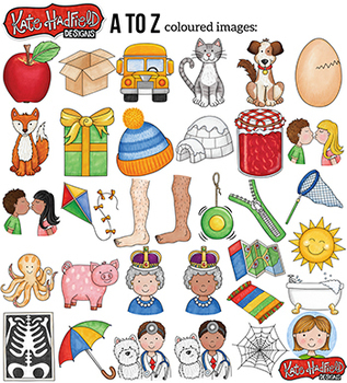 "Alphabet Clip Art: ""A to Z"""